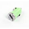 Универсальное автомобильное зарядное устройство, адаптер 1хUSB, 1A (Liberti Project R0003909) (зеленый) - Автомобильный адаптерАвтомобильные адаптеры 12v - USB<br>Аксессуар для зарядки устройства от прикуривателя автомобиля.<br>