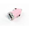 Универсальное автомобильное зарядное устройство, адаптер 1хUSB, 1A (Liberti Project R0003911) (розовый) - Автомобильный адаптерАвтомобильные адаптеры 12v - USB<br>Аксессуар для зарядки устройства от прикуривателя автомобиля.<br>