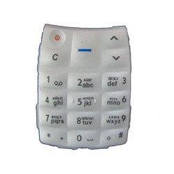 Клавиатура для Nokia 1100 (GO000084) (белый)