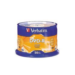 ���� DVD-R Verbatim 4.7Gb 16x Cake Box Printable (50��) (43755)