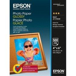Фотобумага глянцевая 10 х 15 см (500 листов) (Epson C13S042549)