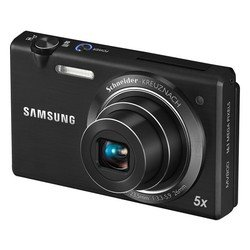 "photocamera samsung mv800 black 14.2mpix zoom5x 2.7"" 720p 30mb microsdhc ccd 1x2.3 is el 5minf 0fr/s 30fr/s bp-70a"