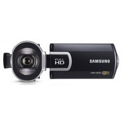 "videocamera samsung hmx-qf30 black 1cmos 20x is opt+el 2.7"" touch lcd 1080i sdhc flash wifi"