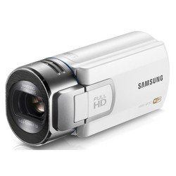 "videocamera samsung hmx-qf30 white 1cmos 20x is opt+el 2.7"" touch lcd 1080i sdhc flash wifi"