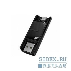 носитель информации usb 3.0 leef bridge 64gb черный [lbr-bb064mla]