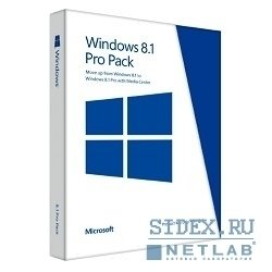 windows professional 8.1 32-bit/64-bit  russian pup russia only medialess win to pro mc (5vr-00167)
