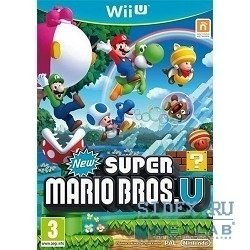 игры new super mario bros u