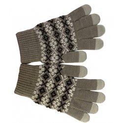 Перчатки для сенсорных экранов (CBR FD 382 Human Friends Fiver) (серый)
