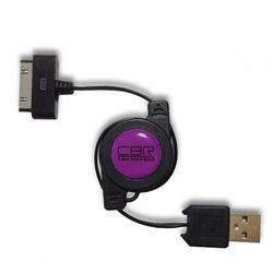 Кабель 30-pin-USB для Apple iPhone 3GS/4/4S, iPad/2/3 new, iPod Nano 6/touch 4 (CBR CB 274) (черный)