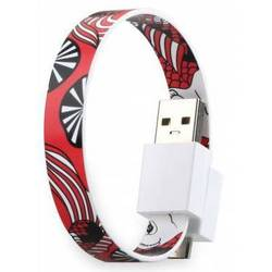 Кабель USB-microUSB+30 pin для Apple iPhone 3GS/4/4S, iPad/2/3 new, iPod Nano 6/touch 4 (GGMM Loop Koi Fish) (DZ00438)