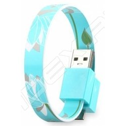 Кабель USB-microUSB+30 pin для Apple iPhone 3GS/4/4S, iPad/2/3 new, iPod Nano 6/touch 4 (GGMM Loop Lotus) (DZ00443)
