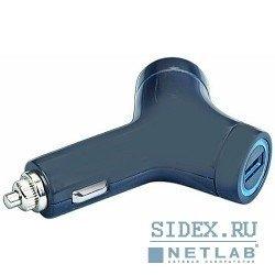 Универсальное зарядное устройство 2USB-порта (Gembird MP3A-UC-CAR5) (черный)