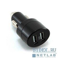 Универсальное автомобильное зарядное устройство Gembird (MP3A-UC-CAR6) (черный)