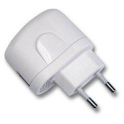 Сетевое зарядное устройство Gembird MP3A-UC-AC2 (белый)