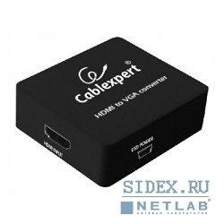 Конвертер HD19F x HD15F (Cablexpert DSC-HDMI-VGA-001)