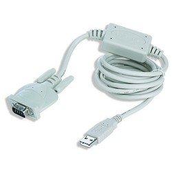 Переходник с USB на Com 1.8m (Gembird UAS111) (белый)