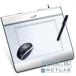 """Графический планшет Genius G-MousePen i608X (Планшет для рисования 6""""х 8"""") с беспроводной мышью и пером,  silver"""