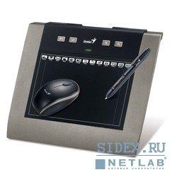 """Графический планшет Genius MousePen M508WXA,  5""""x8"""" беспроводная мышь и перо,  2 программы (Adobe Photoshop и Corel Painter),  Black"""