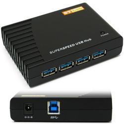 Концентратор 4xUSB 3.0 (ST-Lab U540) (черный)