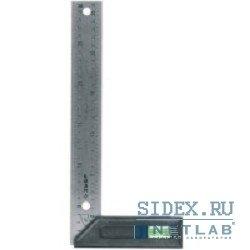 Угольник разметочный ЗУБР 250 x 37 x 2 мм (ЭКСПЕРТ 34397-25)