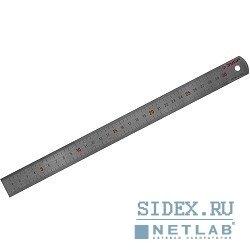 Линейка ЗУБР непрерывная шкала 1/2 мм / 1 мм,  длина 1 м, толщина 1 мм (34280-1.2-100) (нержавеющая, двусторонняя)