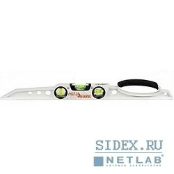 """Уровень ЗУБР """"ACURATE 2"""" литой алюминиевый,  фрезерованный,  эргономичная рукоятка,  3 ампулы,  60см"""