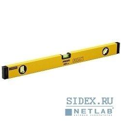 """Уровень STAYER """"PROFI"""" (3466-100) алюминиевый,  коробчатый,  усиленный,  фрезерованный,  3 глазка,  100см"""