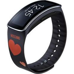 Ремешок для Samsung Gear Fit (ET-SR350RREGRU) (черно-красный)