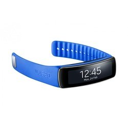 Ремешок для Samsung Gear Fit (ET-SR350BLEGRU) (синий)
