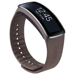 Ремешок для Samsung Gear Fit (ET-SR350BSEGRU) (темно-серый)