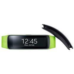 Ремешок для Samsung Gear Fit (ET-SR350BMEGRU) (зеленый)