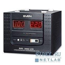 Sven AVR 3000 LCD (черный)
