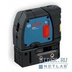 Лазерные дальномеры,  уровни,  детекторы Bosch GPL 3 Нивелир лазерный линейный (точечн,  3 точки,  30м,  точн.0, 3мм/м,  0, 25 кг,  сумка) [601066100]