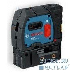 Лазерные дальномеры,  уровни,  детекторы Bosch GPL 5 Нивелир лазерный линейный (точечн,  5 точек,  30м,  точн.0, 2мм/м,  0, 6кг,  чехол) [601066200]