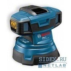 Лазерные дальномеры,  уровни,  детекторы Bosch GSL 2 Нивелир лазерный линейный для проверки ровности пола [601064001]