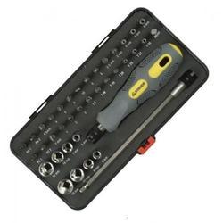 Отвертка реверсивная с битами и головками STAYER (MAX-GRIP 25929-H38 G)  (38 предметов)