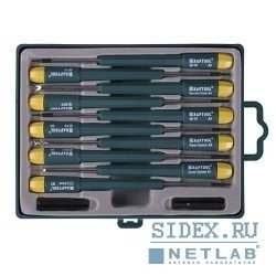 Набор отверток для ремонта мобильных телефонов (KRAFTOOL 25616-H12) (12 предметов)