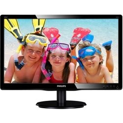монитор philips 200v4lsb2 (10/62) (черный)