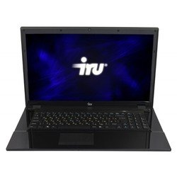 "ноутбук iru patriot 711 core i3-3110m/4gb/500gb/dvdrw/hd4000/17.3""/hd+/free dos/black/6c/wifi/cam"
