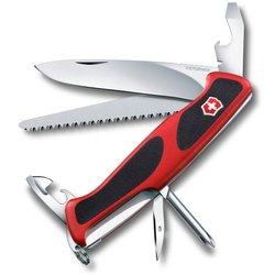 Нож перочинный Victorinox RangerGrip 56 0.9663.C 130мм 12 функций красно-чёрный
