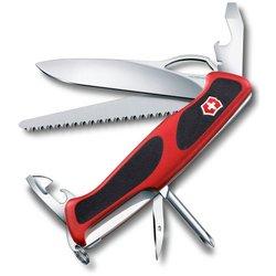 Нож перочинный Victorinox RangerGrip 78 0.9663.MC 130мм 12 функций красно-чёрный