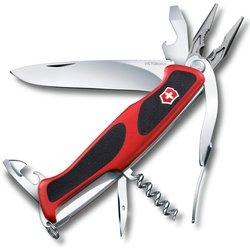 Нож перочинный Victorinox RangerGrip 74 0.9723.C 130мм 14 функций красно-чёрный