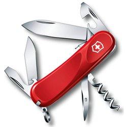 Нож перочинный Victorinox Evolution S101 2.3603.SE 85мм 12 функций красный