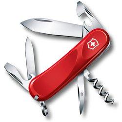 Нож перочинный Victorinox Evolution 10 2.3803.E 85мм 14 функций красный