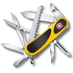 Нож перочинный Victorinox EvoGrip S18 2.4913.SC8 85мм 15 функций жёлто-чёрный