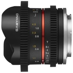 samyang 8mm t3.1 v-dslr umc fish-eye ii fujifilm x