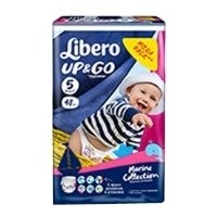 libero up&go marine collection 6 (13-20 кг) 44 шт.