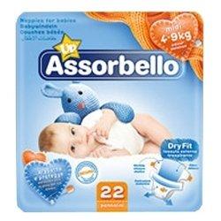 Assorbello Dry Fit Midi (4-9 кг) 22 шт.