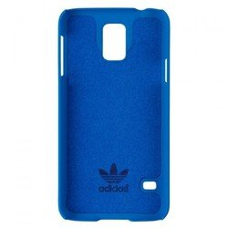 чехол-накладка для samsung galaxy s5 (adidas moulded case 17206) (синий)