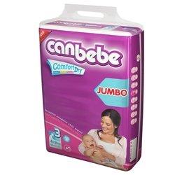 Canbebe подгузники 3 (4-9 кг) 68 шт.